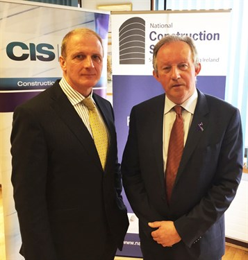 Tom Moloney And Tom Parlon At National Construction Summit 2016