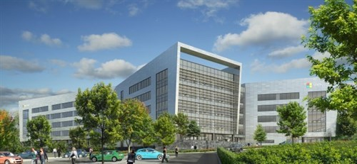 €134m Office Development For Microsoft At South County Business Park